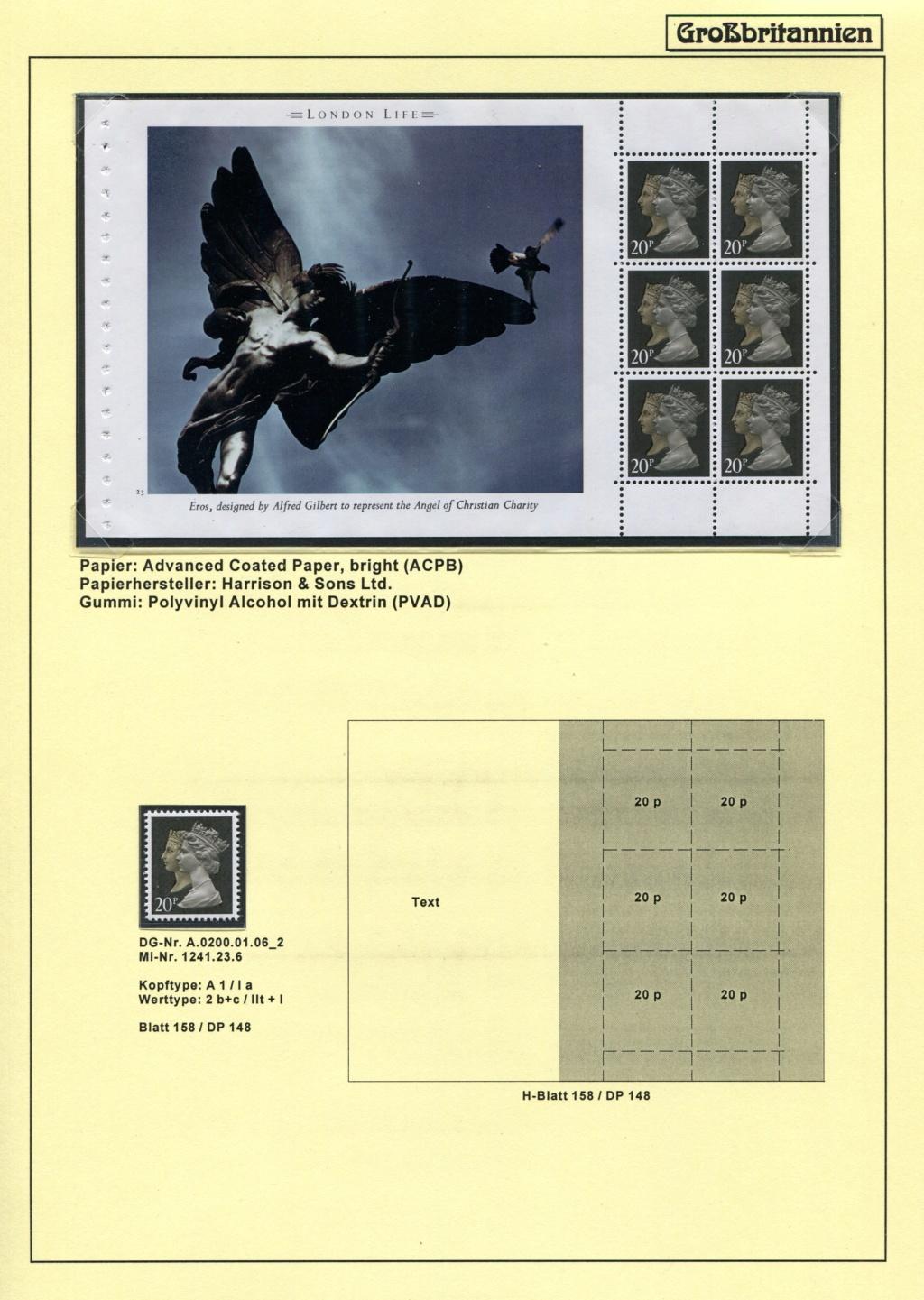 Großbritannien - 150 Jahre Briefmarken Black_36