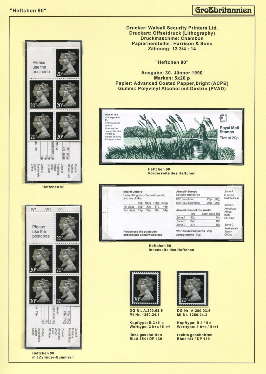 Großbritannien - 150 Jahre Briefmarken Black_37