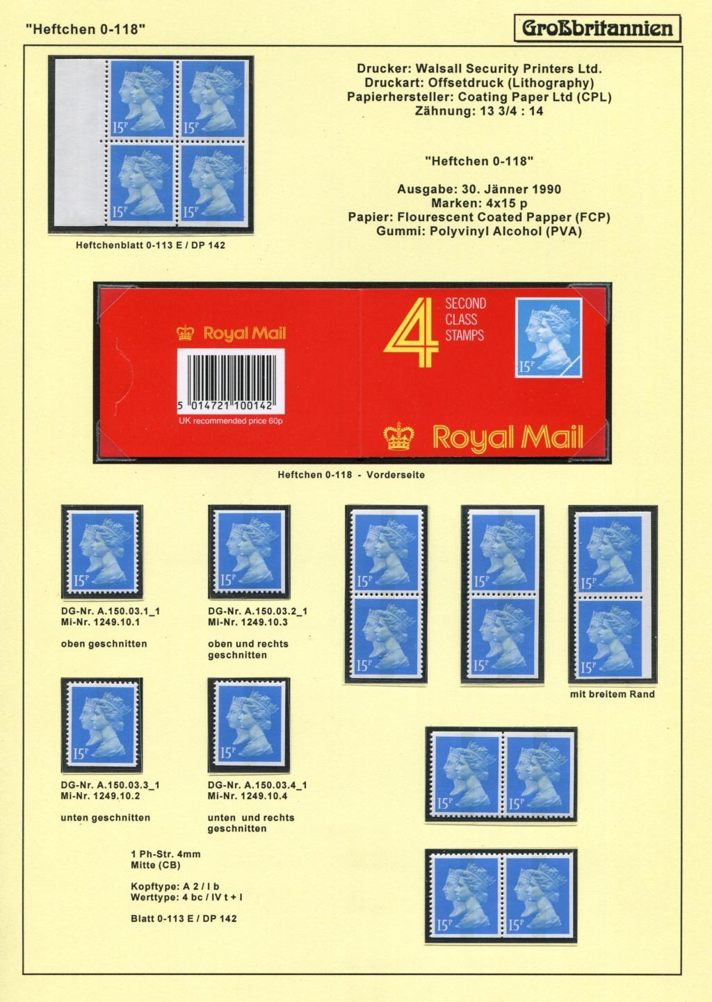 Großbritannien - 150 Jahre Briefmarken Black_38