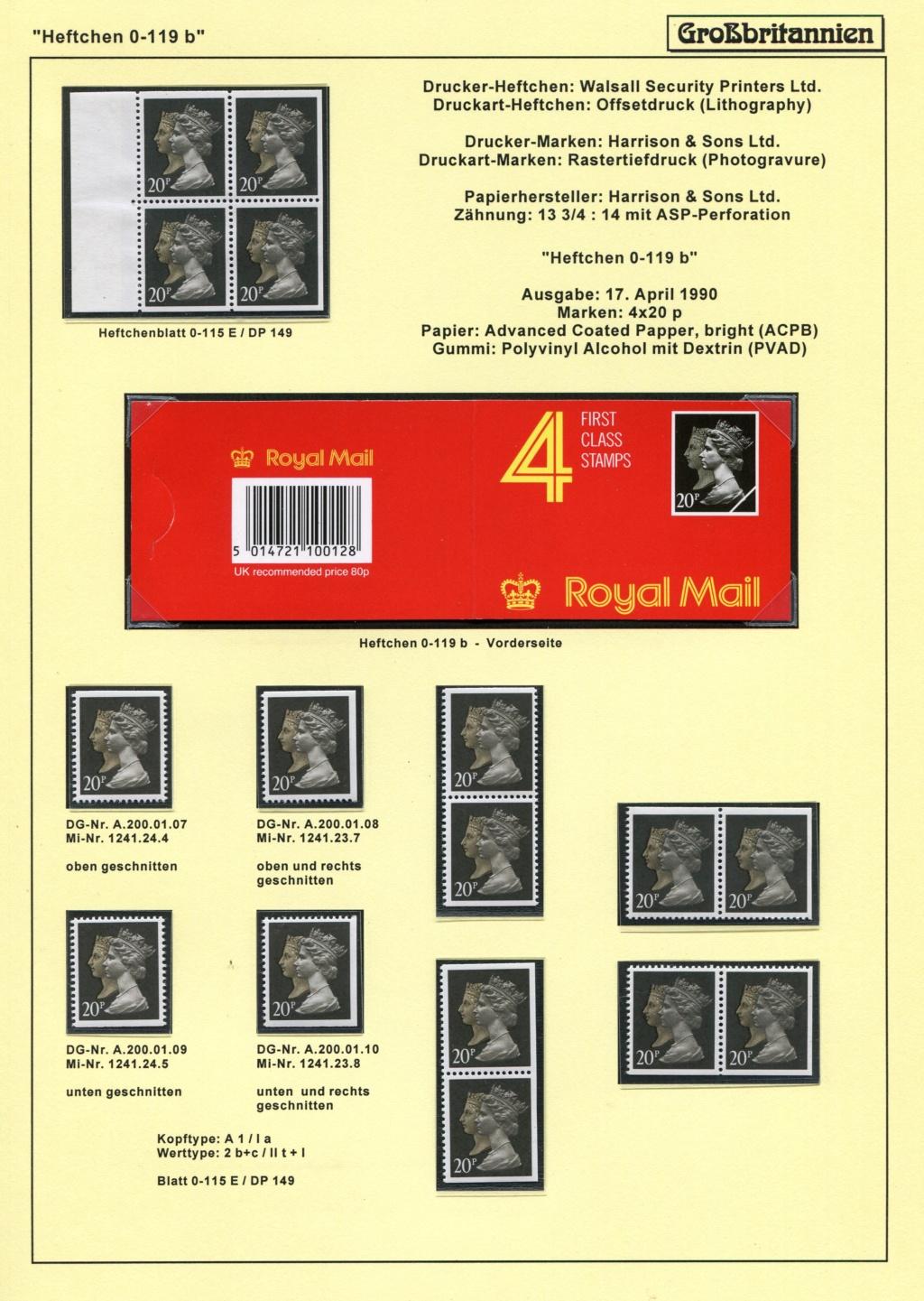Großbritannien - 150 Jahre Briefmarken Black_47