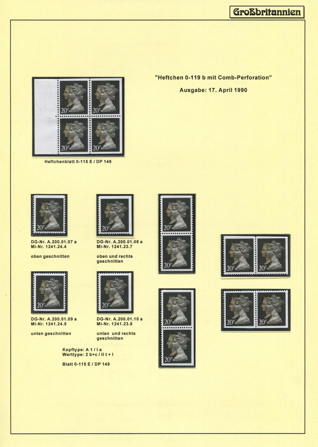 Großbritannien - 150 Jahre Briefmarken Black_49