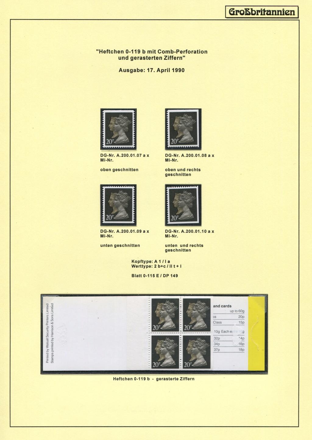 Großbritannien - 150 Jahre Briefmarken Black_50