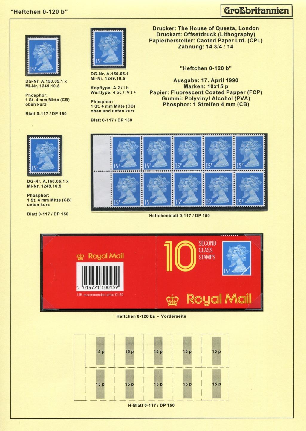 Großbritannien - 150 Jahre Briefmarken Black_51