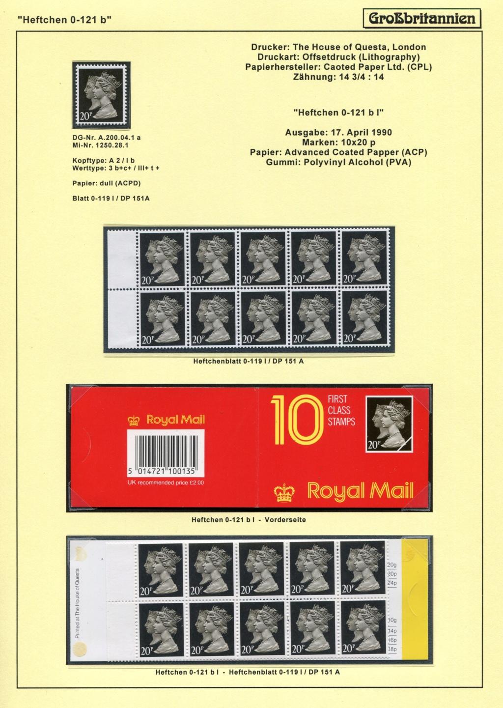 Großbritannien - 150 Jahre Briefmarken Black_53
