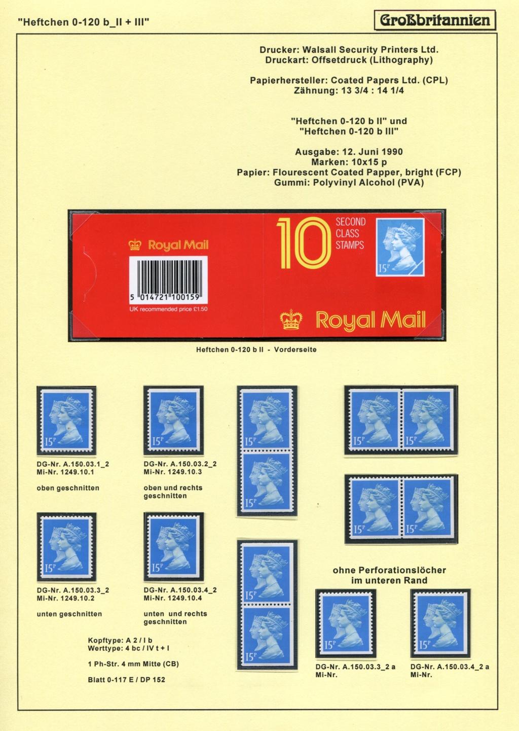 Großbritannien - 150 Jahre Briefmarken Black_54