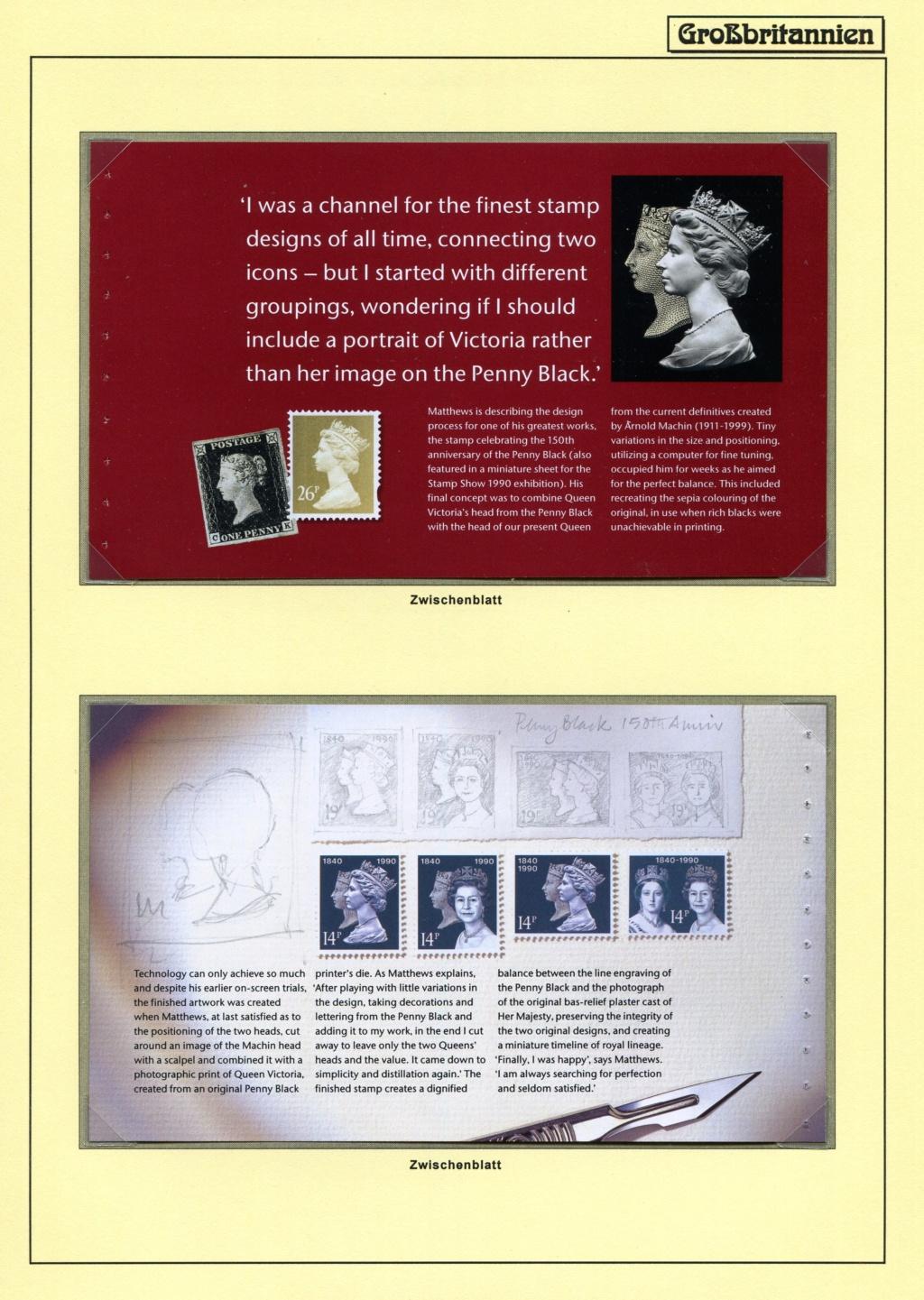 Großbritannien - 150 Jahre Briefmarken Black_65
