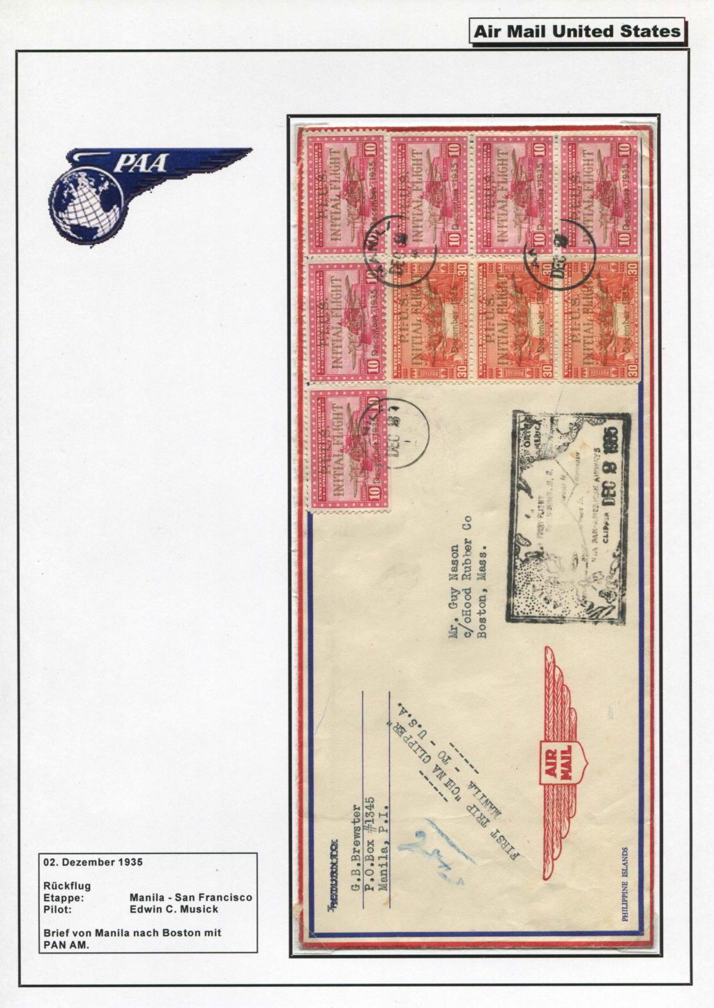 Sammlung FAM 14 (FOREIGN AIR MAIL ROUTE No 14) - Teil 1 Fam_1428