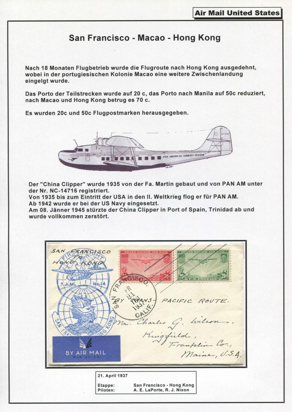 Sammlung FAM 14 (FOREIGN AIR MAIL ROUTE No 14) - Teil 1 Fam_1433