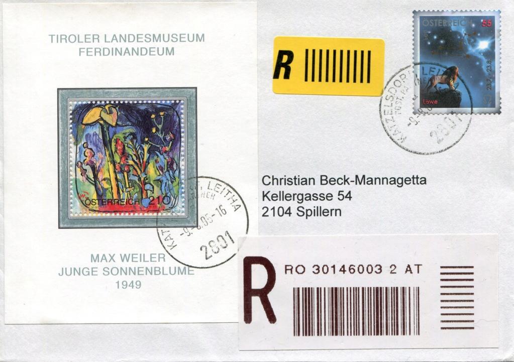 Freimarken Tierkreiszeichen/Sternbilder - Belege Forum_10