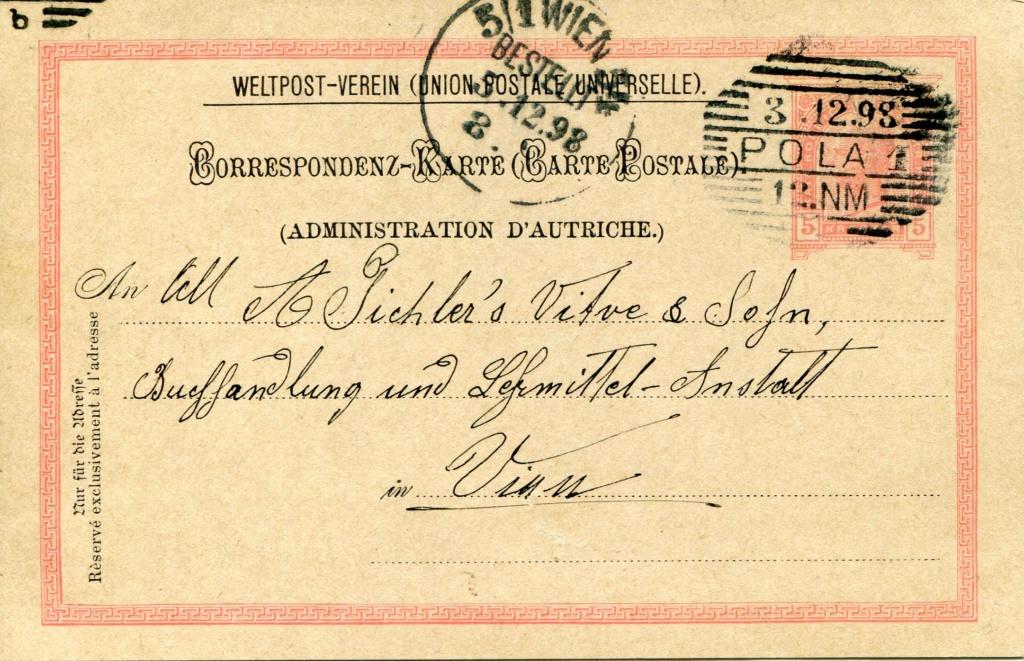 Privatganzsachen von A. Pichlers Witwe & Sohn - Seite 2 Pcihle10