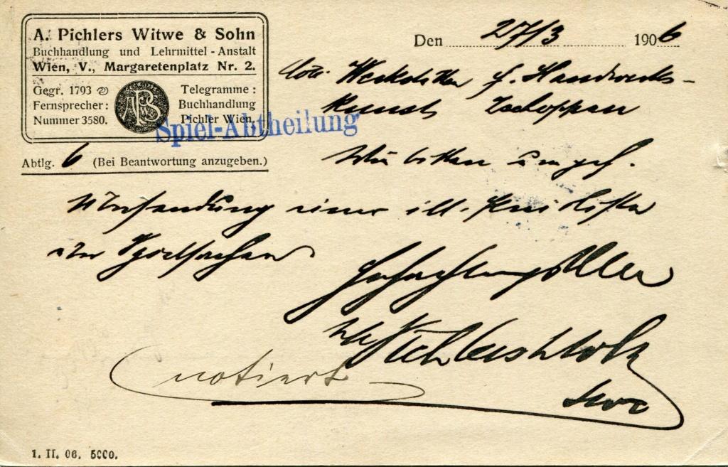 Privatganzsachen von A. Pichlers Witwe & Sohn - Seite 2 Pcihle20