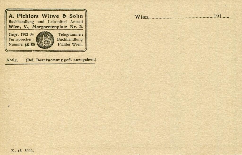 Privatganzsachen von A. Pichlers Witwe & Sohn - Seite 2 Pcihle28