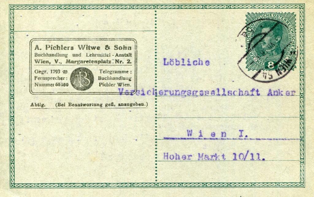 Privatganzsachen von A. Pichlers Witwe & Sohn - Seite 2 Pcihle29