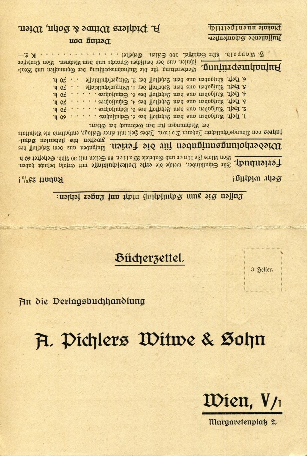 Privatganzsachen von A. Pichlers Witwe & Sohn - Seite 2 Pcihle34