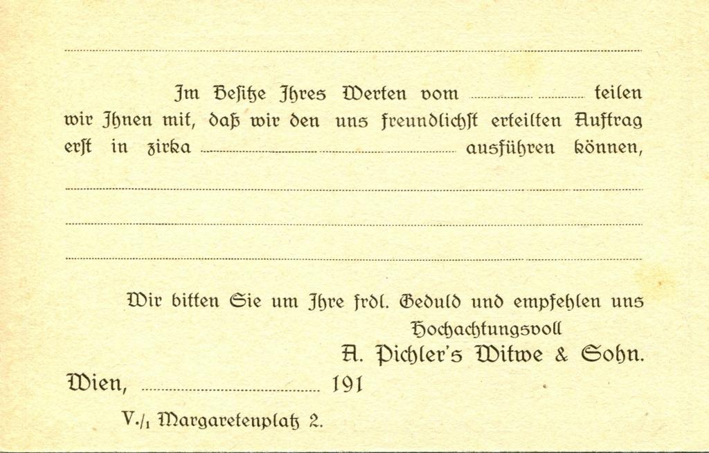Privatganzsachen von A. Pichlers Witwe & Sohn - Seite 2 Pcihle38