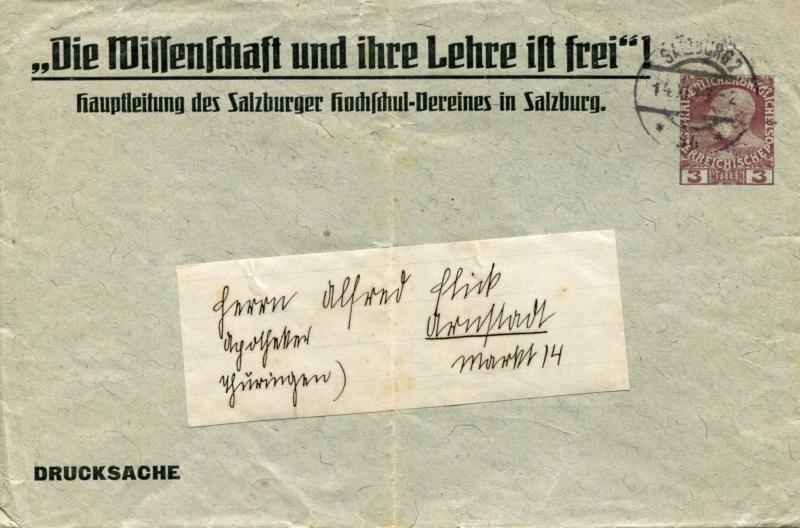 Private Briefumschläge Monarchie Umschl10