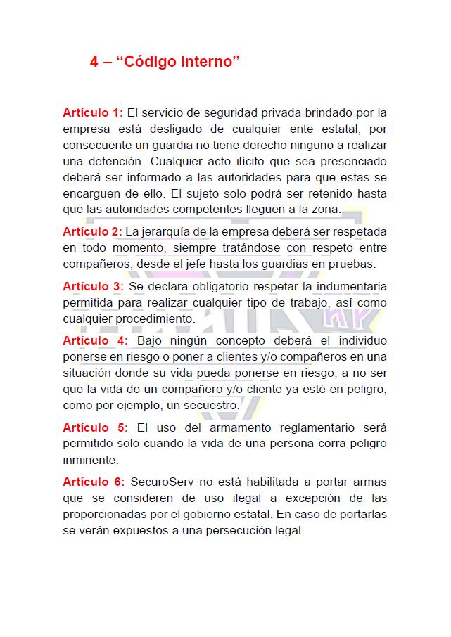 Normativa SecuroServ 2021-014
