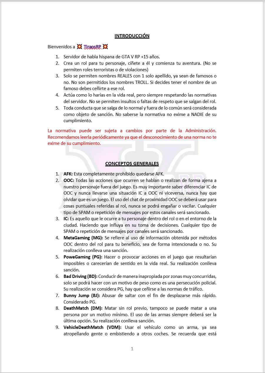 Normativa General Mormas21