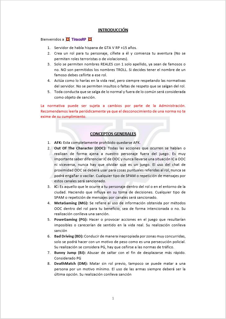 Normativa General Normat23