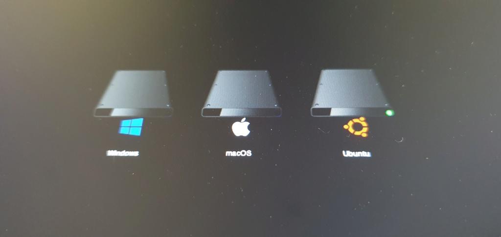 Triple boot Big Sur-Linux-Windows 10 sur un disque 20201018
