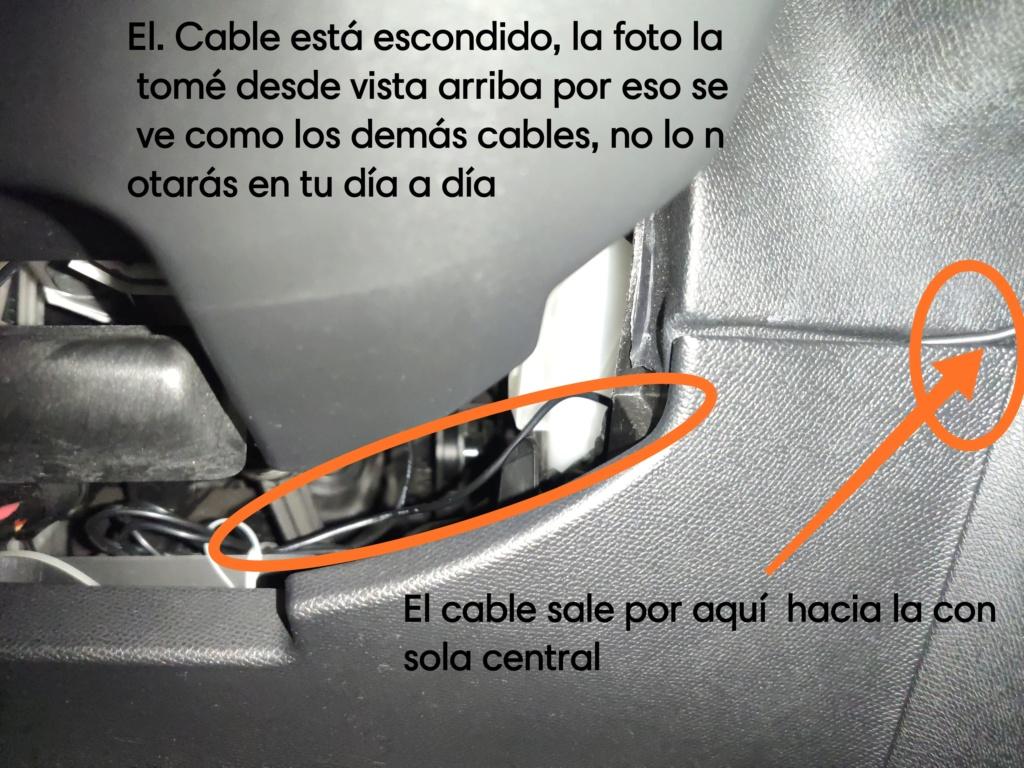 alguien sabe desmontar los plasticos que hay en el retrovisor delantero interior para Instalar cámara delantera que grabe (pregunta) Img_2036