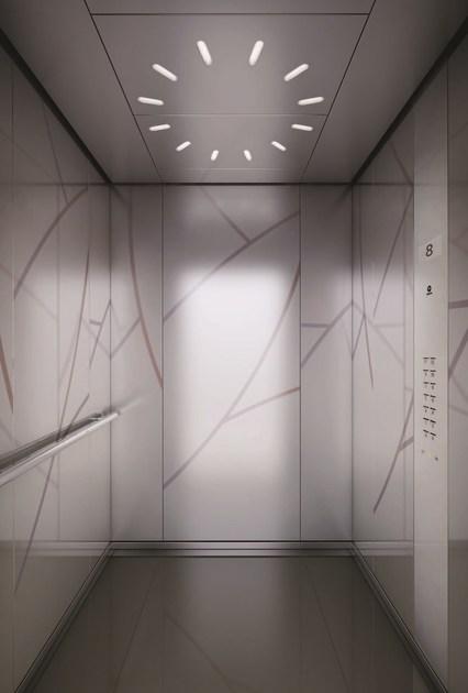 """Лифты в ЖК """"Крылья"""": сколько, какого производителя, оформление Aa410"""