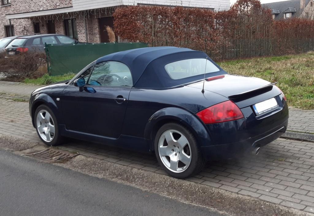 """Mon """"nouveau"""" TT Roadster Mk1 de 2002 20200115"""