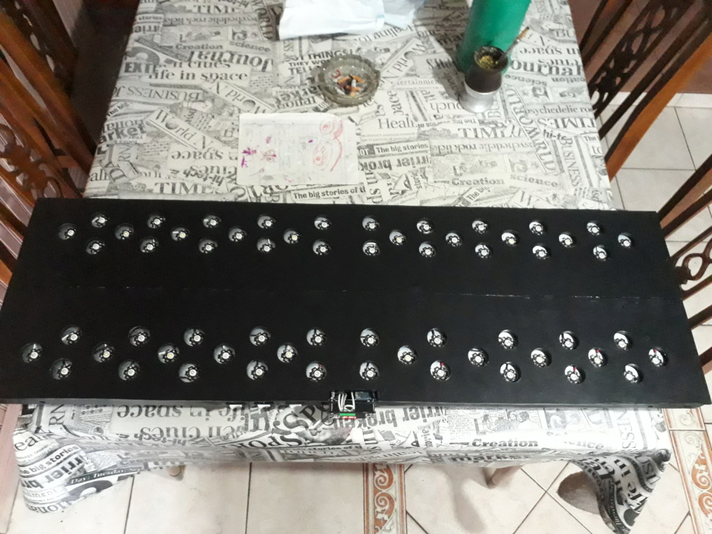 Pantalla de 60 led 180w DIY 20200818