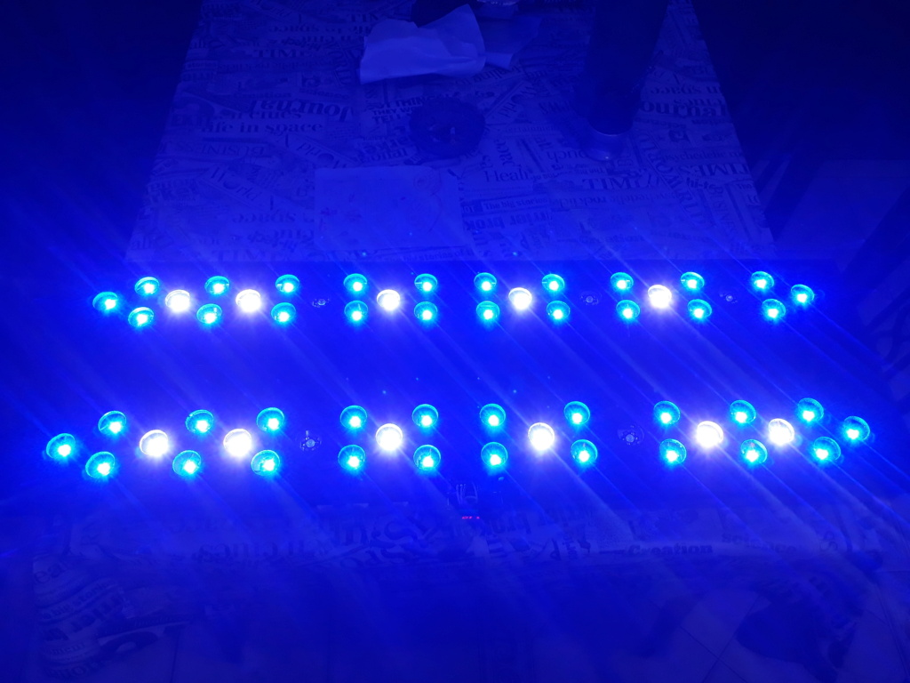 Pantalla de 60 led 180w DIY 20200821