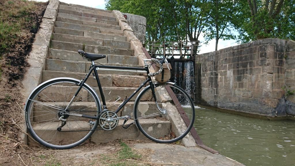 randonneuse artisanale; le vélo de Mr Henri. Dsc_0144