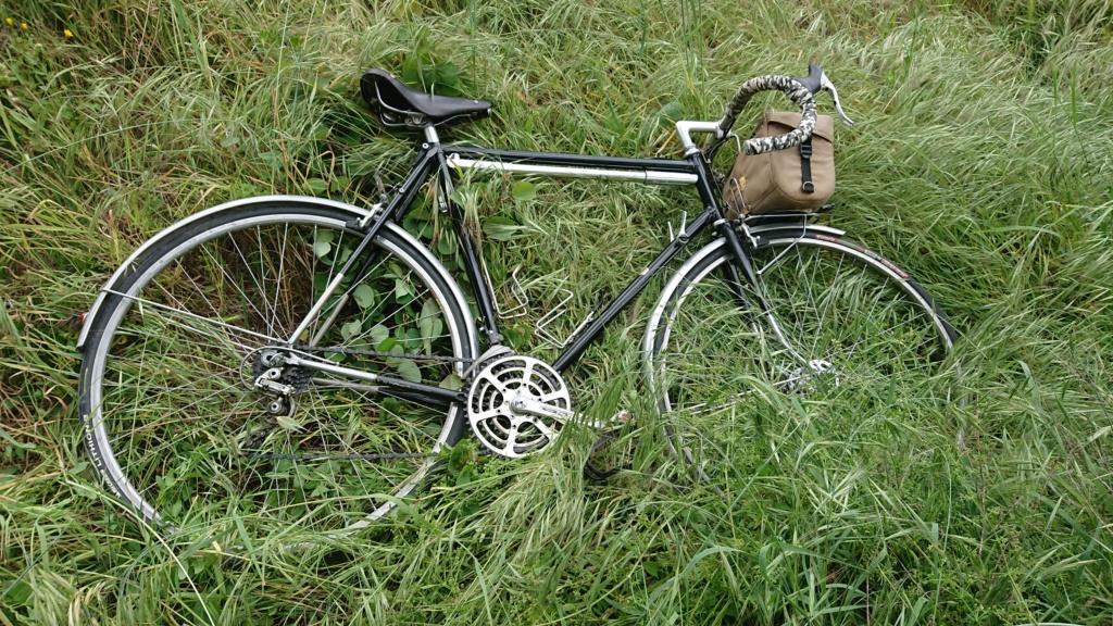 randonneuse artisanale; le vélo de Mr Henri. Dsc_0149