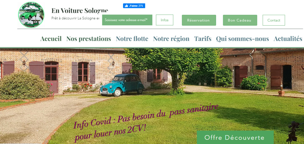 En voiture 2cv en Sologne (41) Captur33