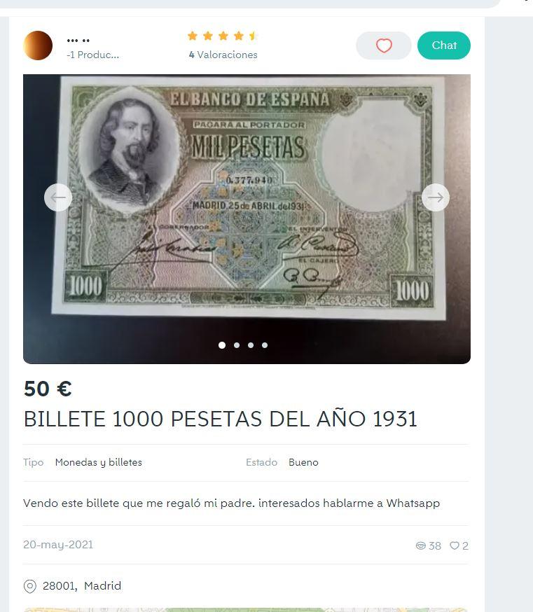 catawiki - billete falso, reproducción Captur10