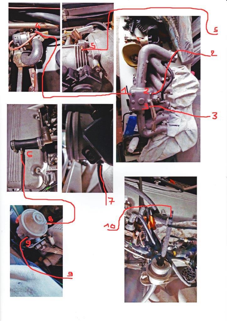 [ BMW E23 728i M30B28 ] démontage culasse (résolu) Durite10