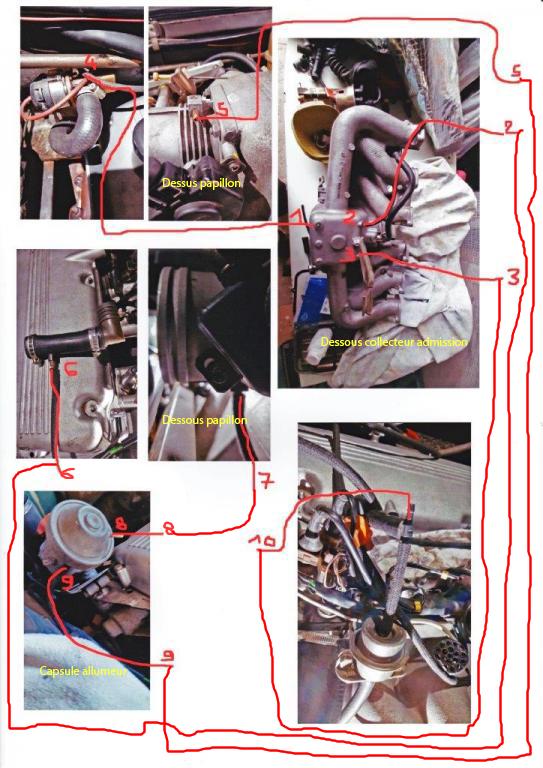 [ BMW E23 728i M30B28 ] démontage culasse (résolu) - Page 2 Durite11