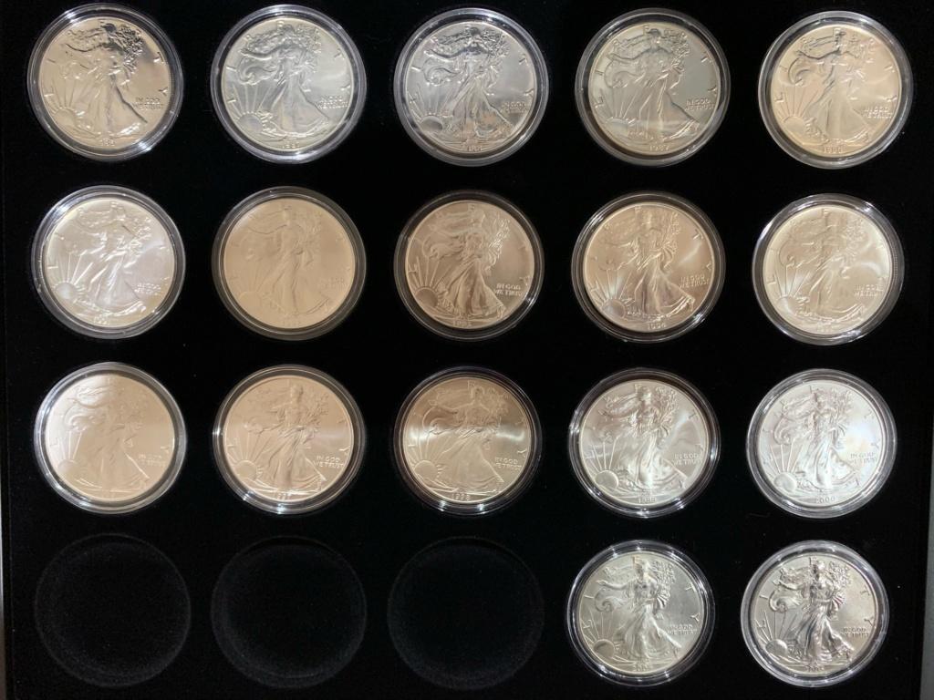 Mi colección de Onzas de plata 111