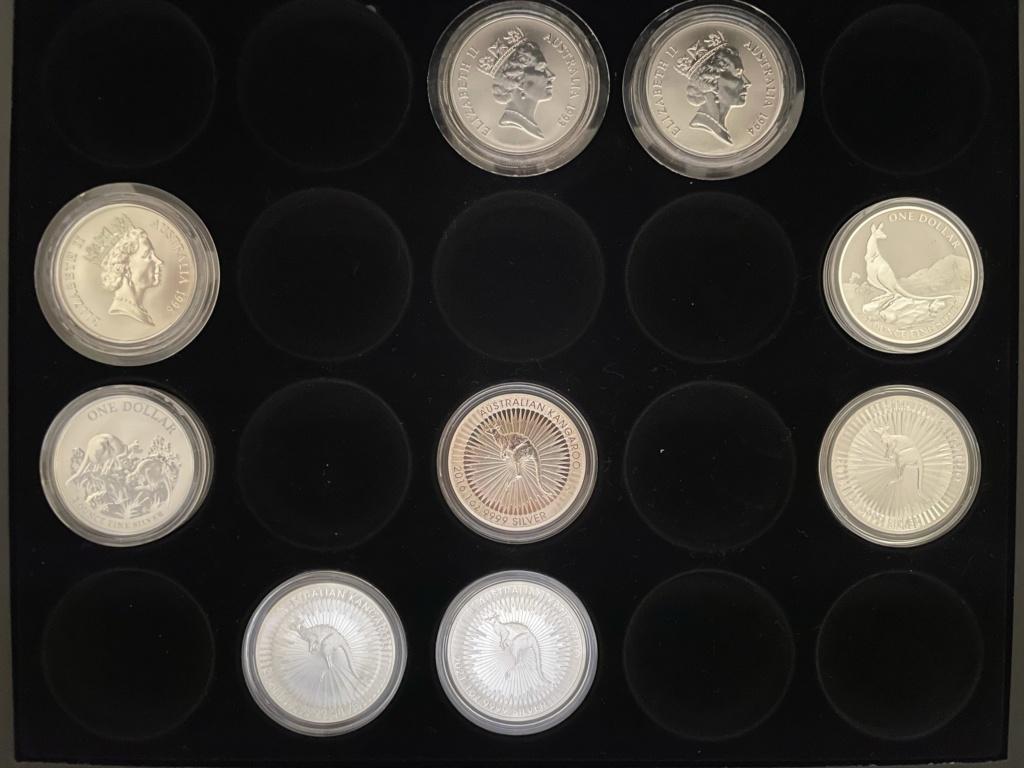 Mi colección de Onzas de plata Austra18