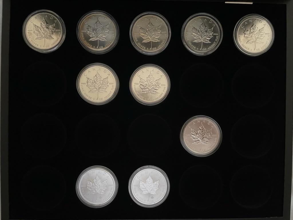 Mi colección de Onzas de plata Canada10
