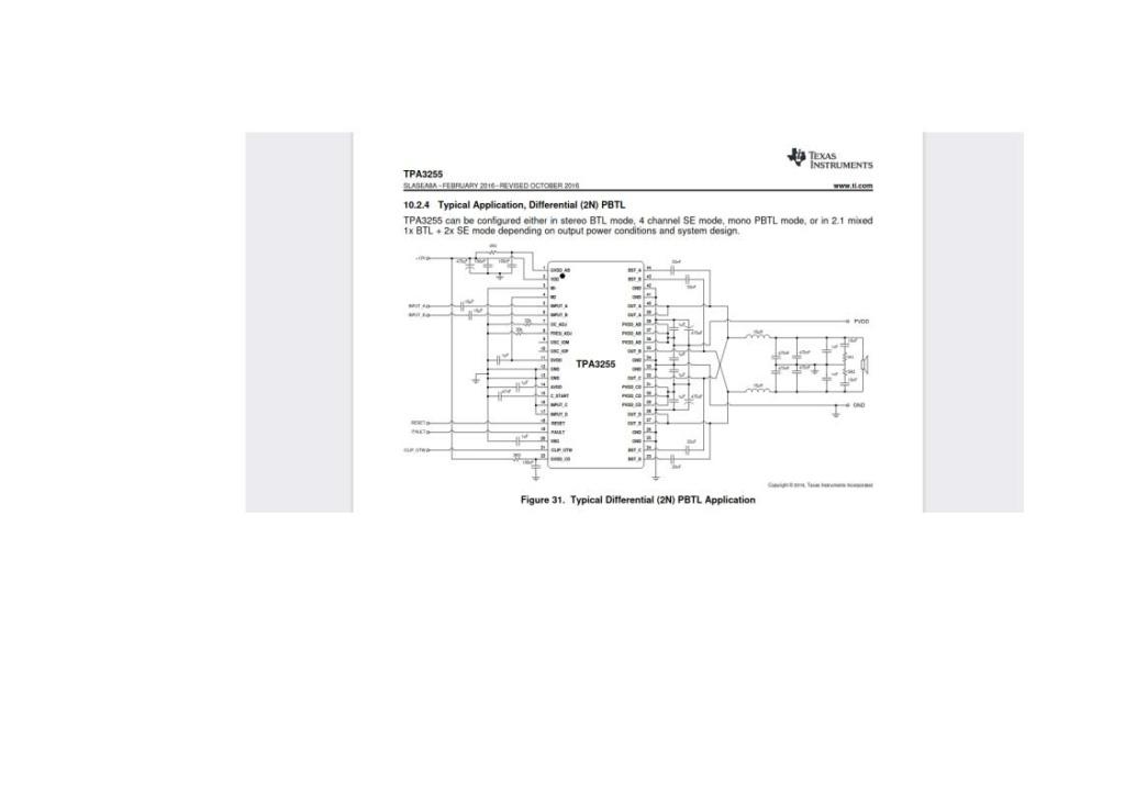 Nuova scheda TPA3255 compatta e semplice...qualcuno l'ha provata? Pbtl10