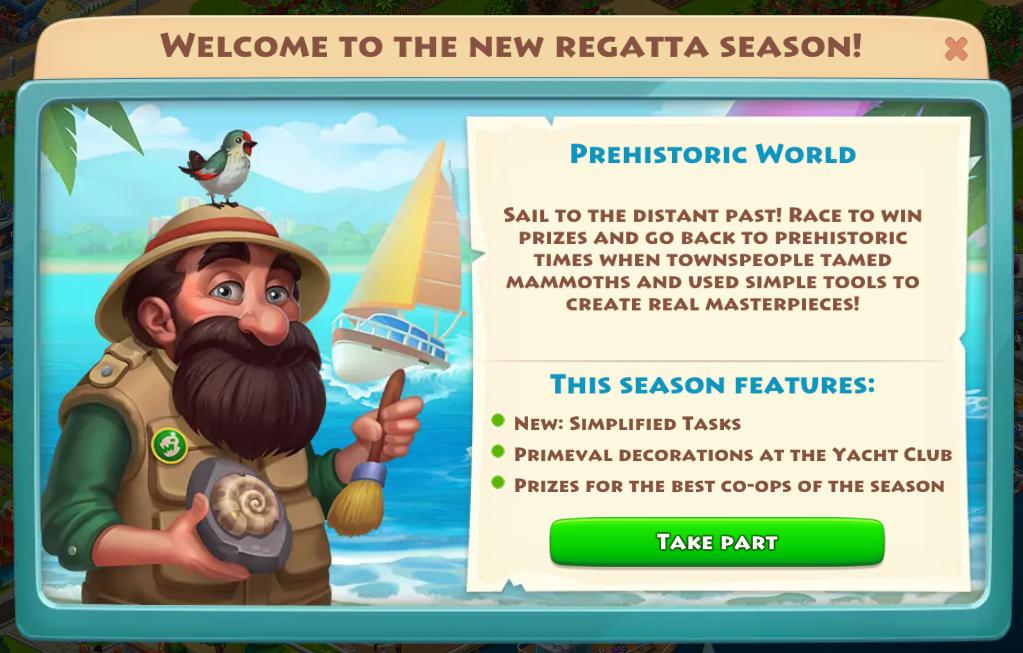 Regatta theme - PREHISTORIC WORLD Prehis12