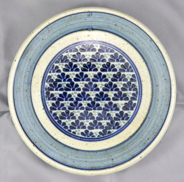 Need help with this pottery dish / plate and mark Japane13