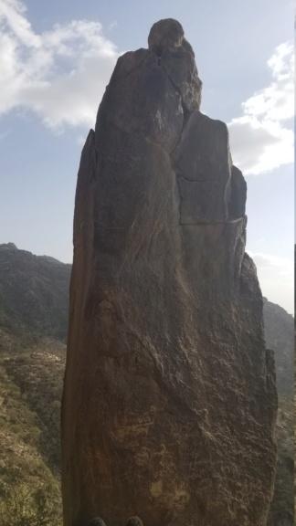 ارجوا تحليل مجسم امراه وليسى واضح ولاكن أصابع واضحه في نص جبل  Eeeeee12