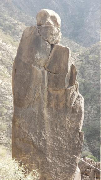 ارجوا تحليل مجسم امراه وليسى واضح ولاكن أصابع واضحه في نص جبل  Eeeeee15