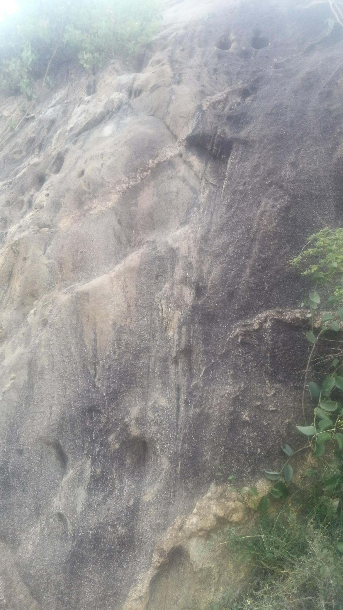 ممكن تحليل الفرج ويوجد رموز.في نفس صخره  Img-2048