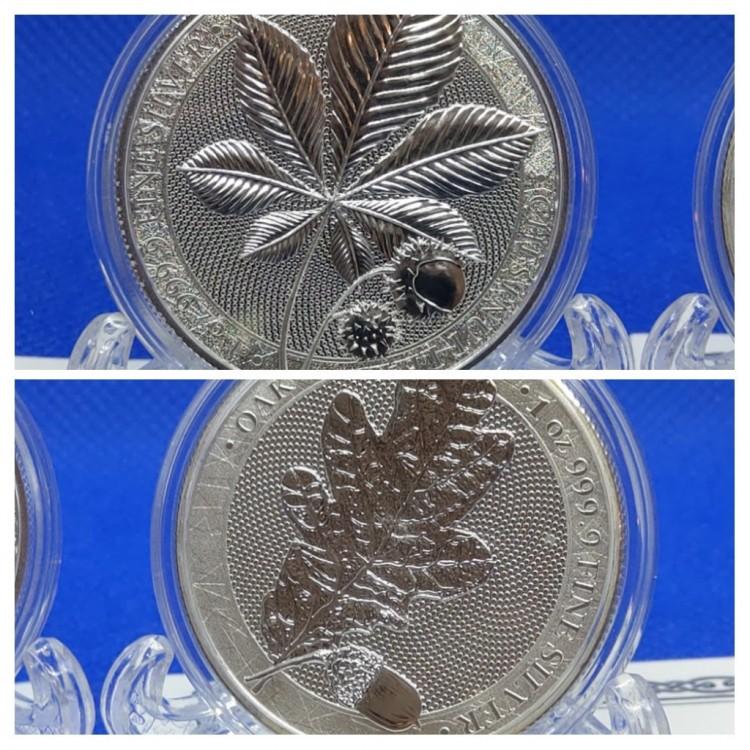 ✨ Germania Mint Mythical Forest Premium Bullion 20210711