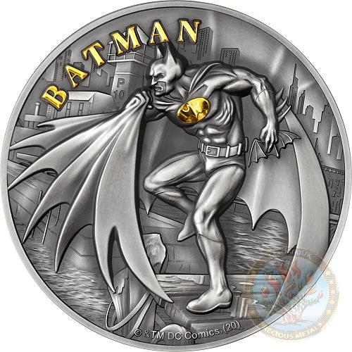 ✨ Cook Island DC Comics Collection by Mint XXI - Batman  Dc-com14
