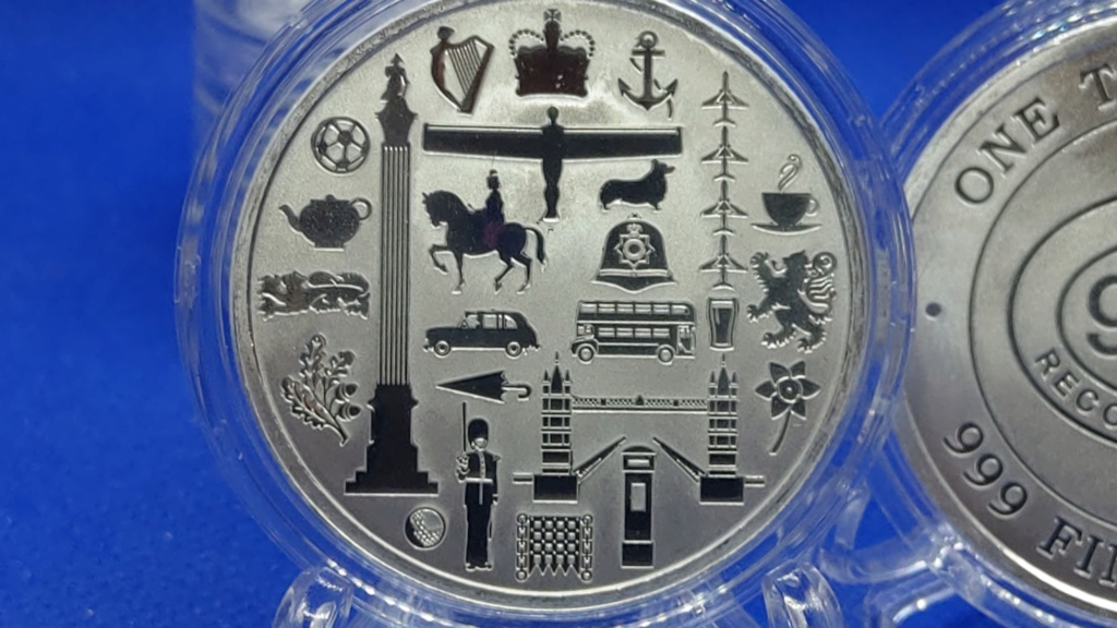 ✨ Great Britain Icons 1 oz Silver Rounds  Imag9210