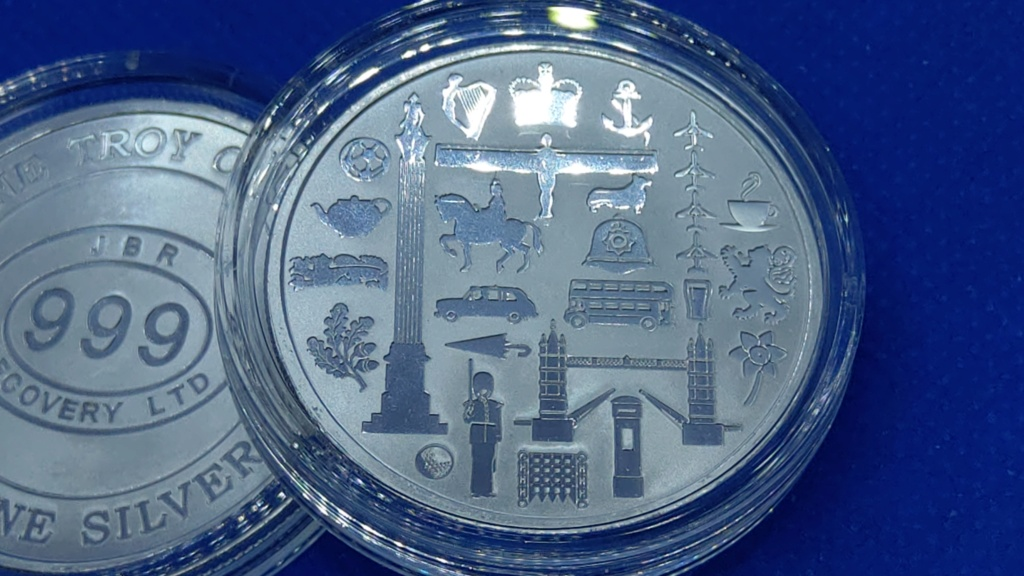 ✨ Great Britain Icons 1 oz Silver Rounds  Imag9211