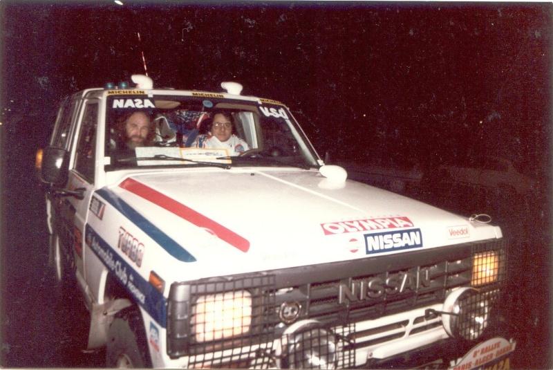 Le PATROL de Mon père DAKAR 1986 & 1987 1986_017