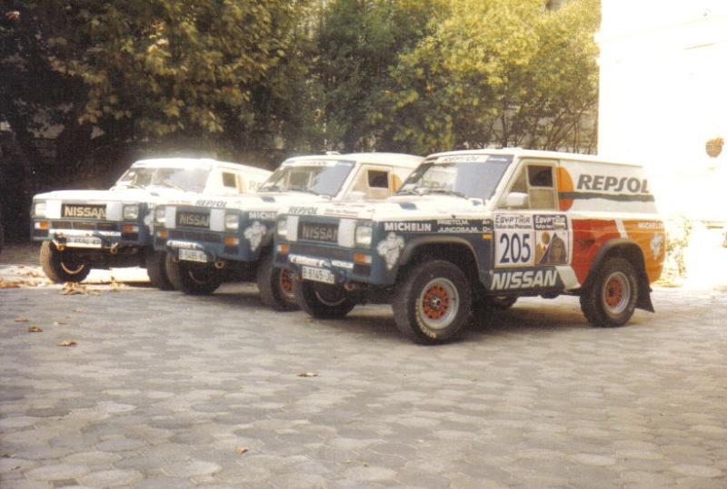 Le PATROL de Mon père DAKAR 1986 & 1987 R_phar11